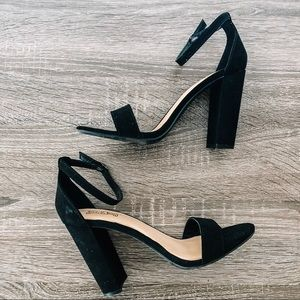 Shoes - Ankle Strap Heels
